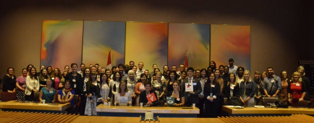 Participants of the youth consultation